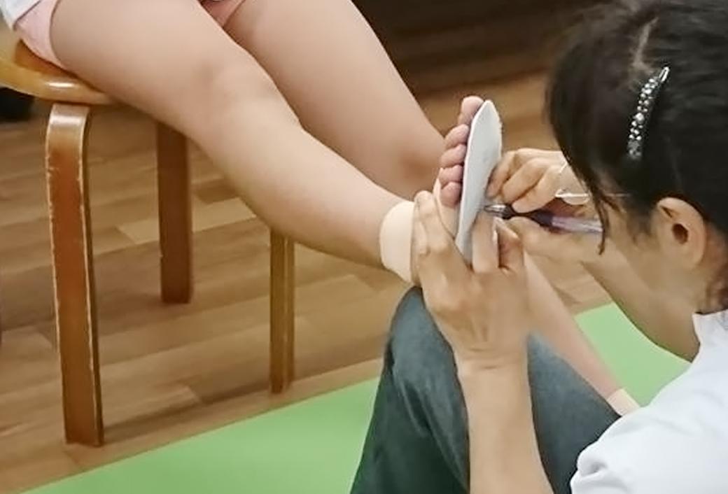 足底板治療について