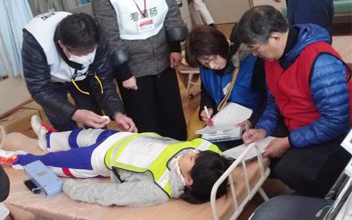 公益活動、練馬区医療所救護訓練